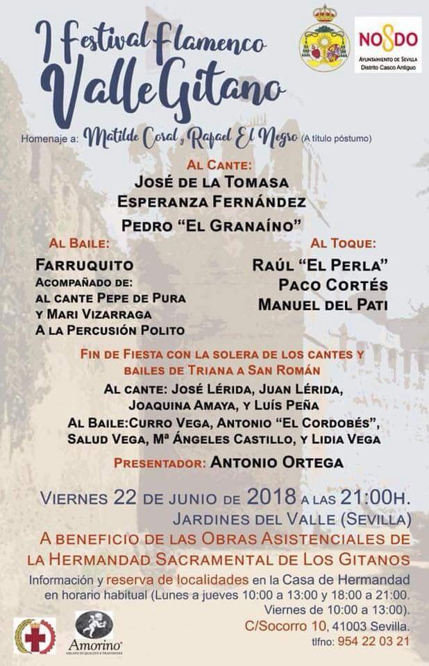 I Festival Flamenco Valle Gitano