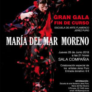 María del Mar Moreno - Gala fin de curso