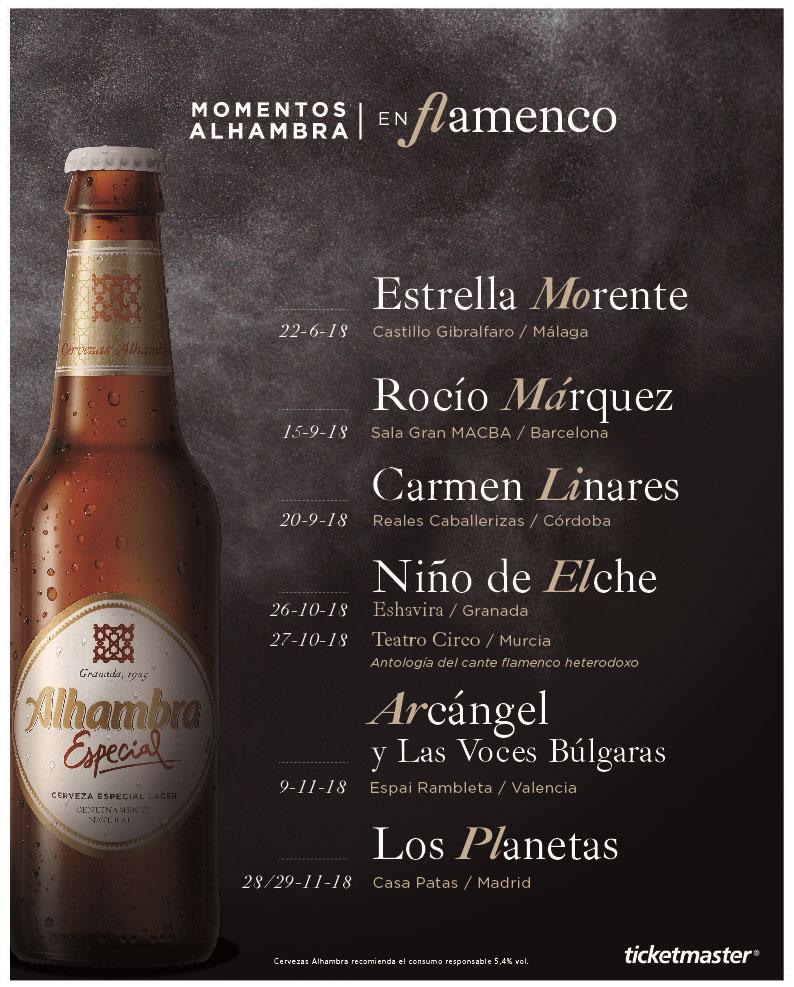 Momentos Alhambra en Flamenco