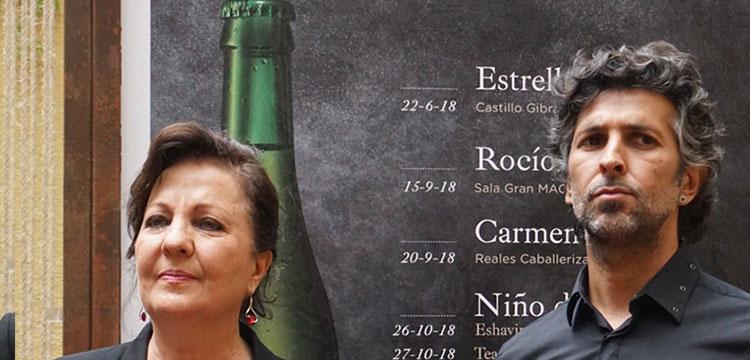 Estrella Morente, Carmen Linares y Arcángel, en el ciclo Momentos Alhambra En Flamenco