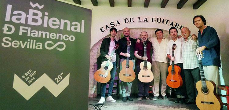 El Espacio Turina será 'El Templo de las seis cuerdas' en la XX Bienal de Flamenco.