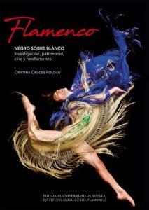 Cristina Cruces Flamenco negro sobre blanco