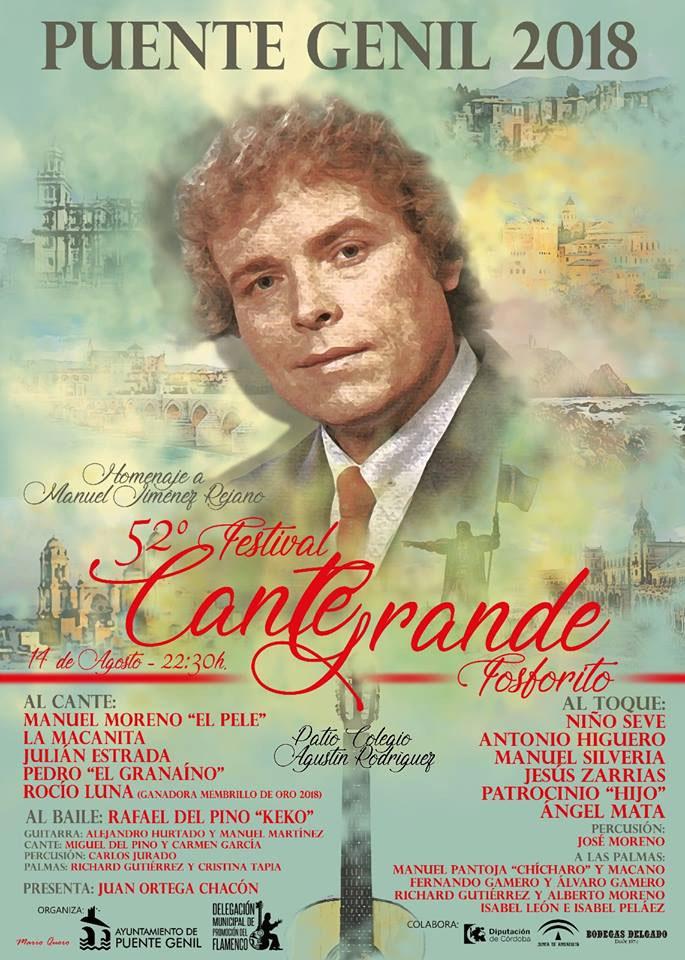 Festival Cante Grande Puente Genil