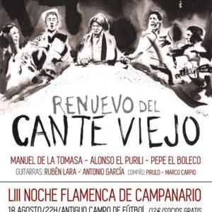 Renuevo del Cante Viejo - Campanario Noche Flamenca