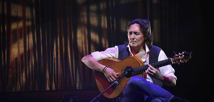 Vicente Amigo en el Festival de la Guitarra de Córdoba