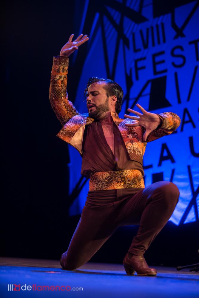 Adrián Santana en el Cante de las Minas 2018
