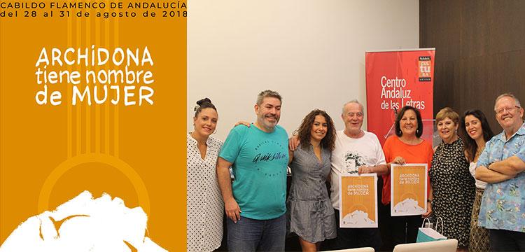 """Cabildo Flamenco de Andalucía. Archidona tiene nombre de Mujer"""