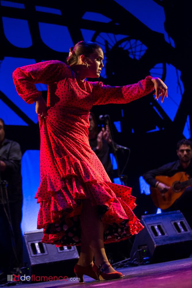 Clara Gutiérrez en el Cante de las Minas 2018