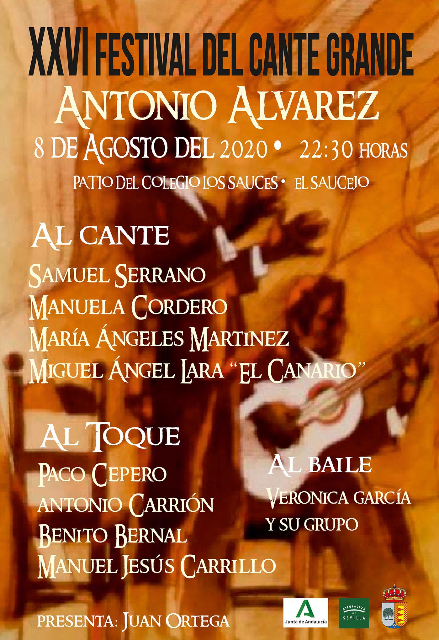 Festival Flamenco el Saucejo 2020