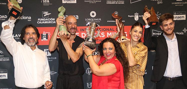 Ganadores del Concurso Internacional del Cante de las Minas 2018