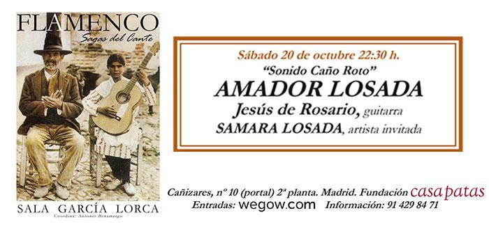 Amador Losada - Sala García Lorca