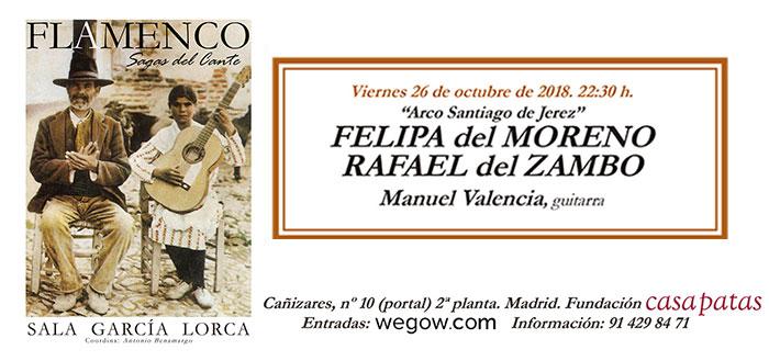 Arco Santiago - Felipa del Moreno - Sala García Lorca