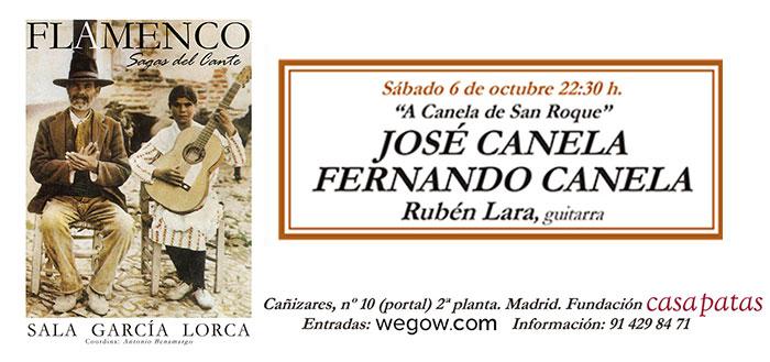 José Canela - Sala García Lorca
