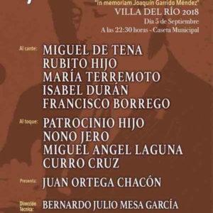 Festival Flamenco Villa del Rio