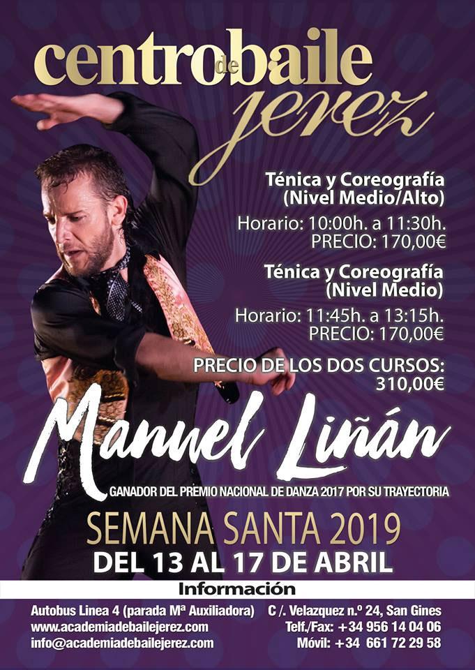 Centro Baile Jerez Semana Santa Manuel Linan