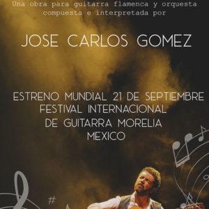 José Carlos Gómez - Festival Guitarra Morelia