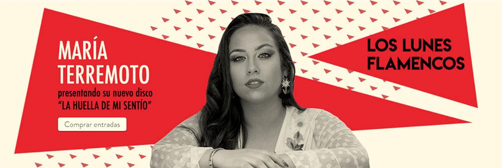 María Terremoto - Los Lunes Flamencos Teatro Flamenco Madrid