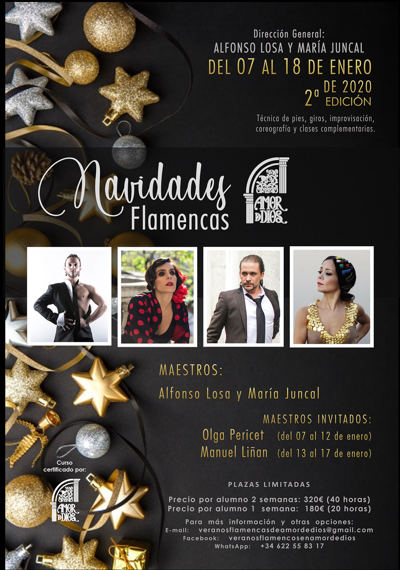Navidades Flamencas - María Juncal & Alfonso Losa