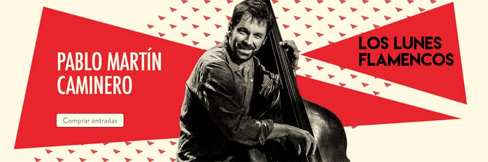 Pablo Martin Caminero - Los Lunes Flamencos Teatro Flamenco Madrid