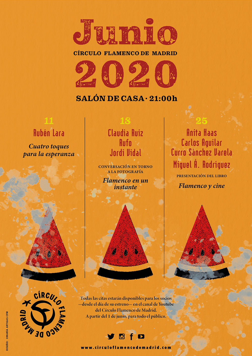 Círculo Flamenco de Madrid - junio 2020