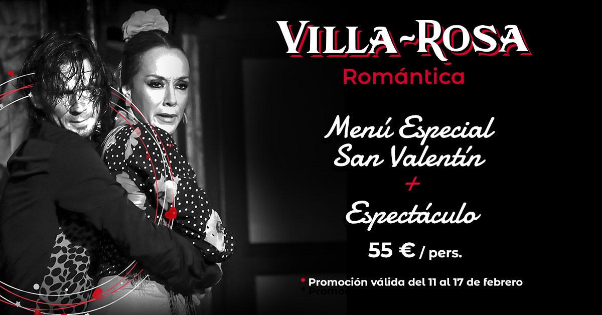 San Valentin en el Villa Rosa