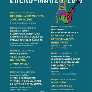 Círculo Flamenco de Madrid - programación