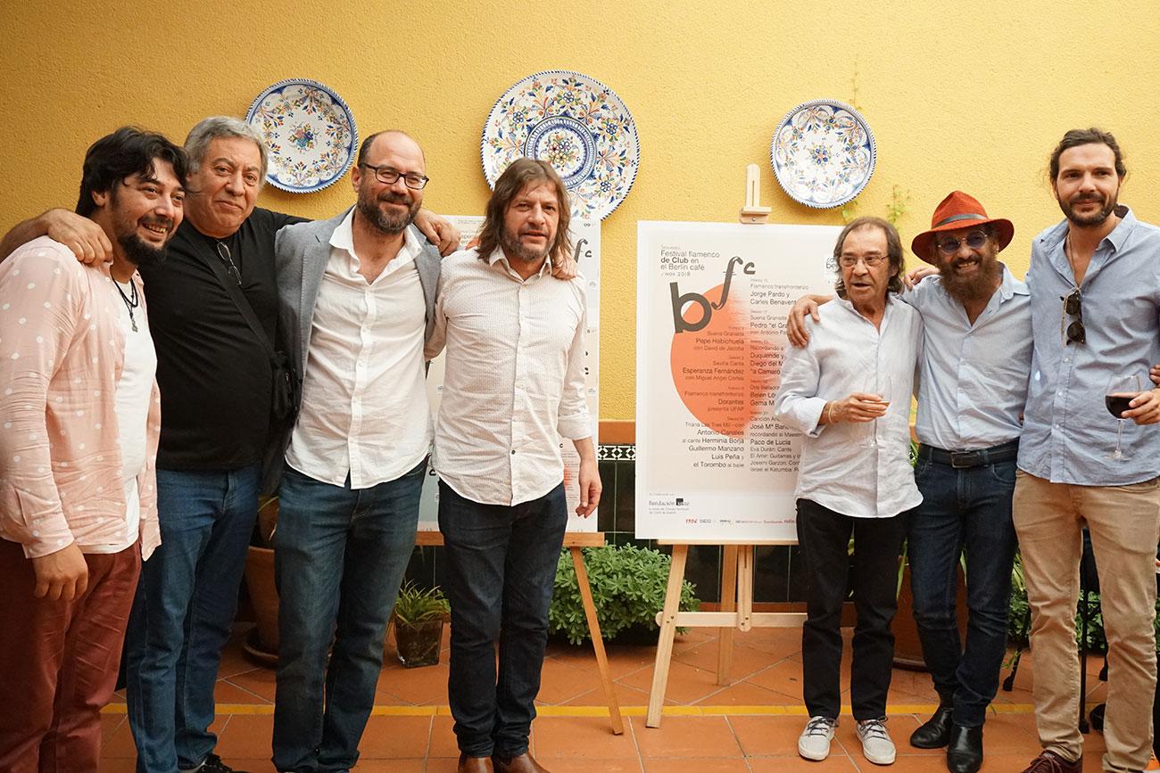 Presentación 2º Festival Flamenco de Club de Berlín Café