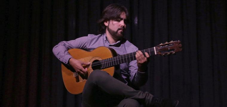 "Álvaro Martinete presentó su primer disco ""Seis veredas"""