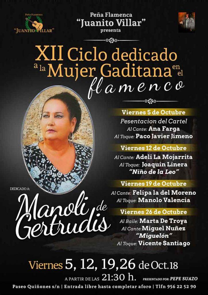 Ciclo Mujer Gaditana - Peña Juan Villar