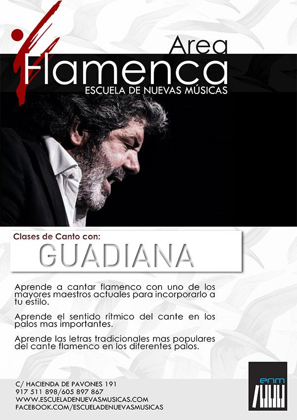 Clases de Cante con Guadiana
