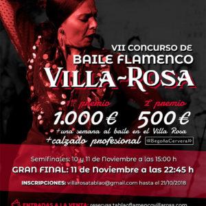 Concurso Baile Flamenco Villa Rosa