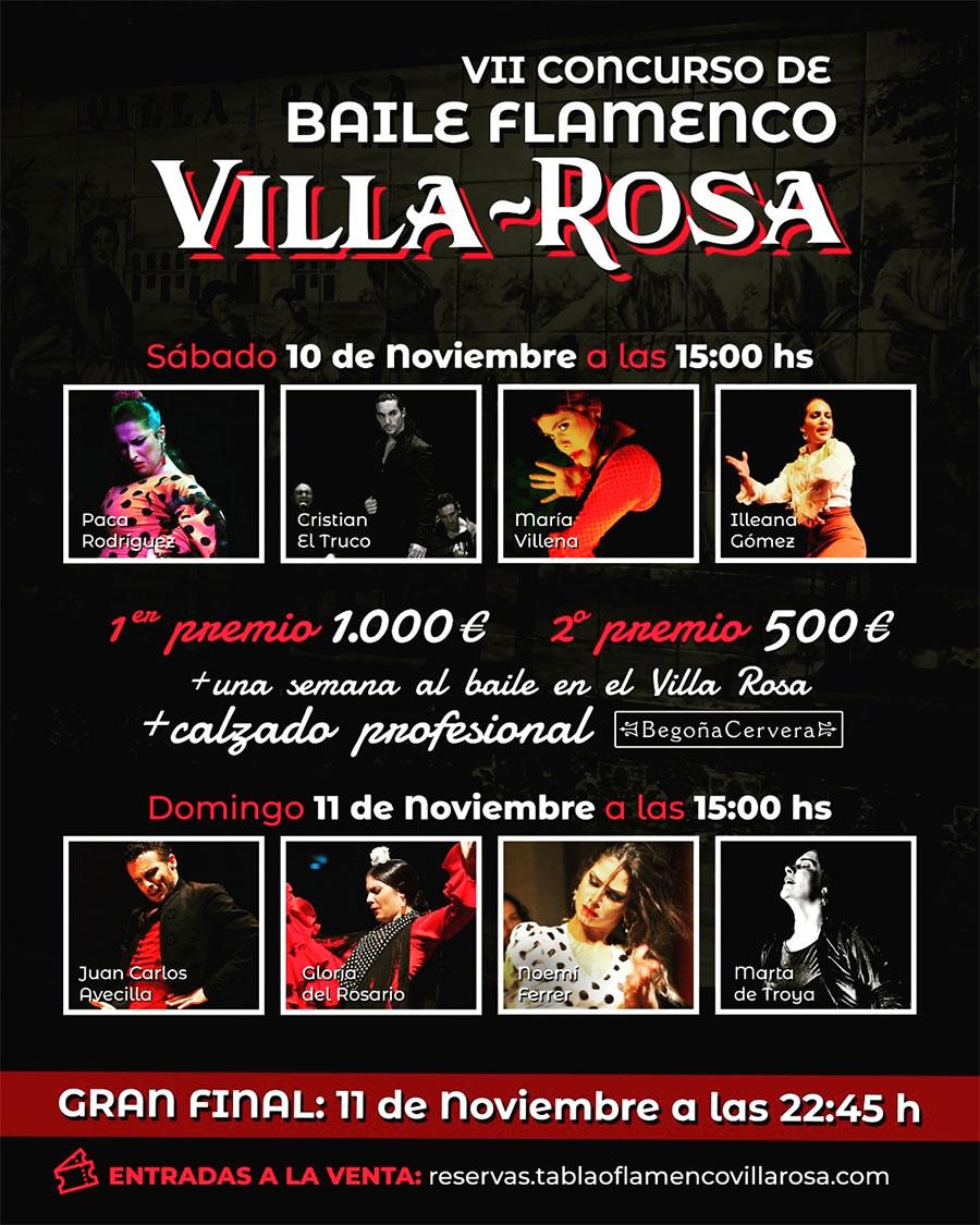 Concurso Baile Flamenco Villa Rosa - Semifinales