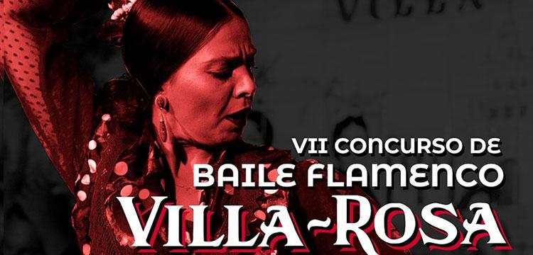 El Tablao Flamenco Villa-Rosa organiza y presenta elVII Concurso de Baile Flamenco