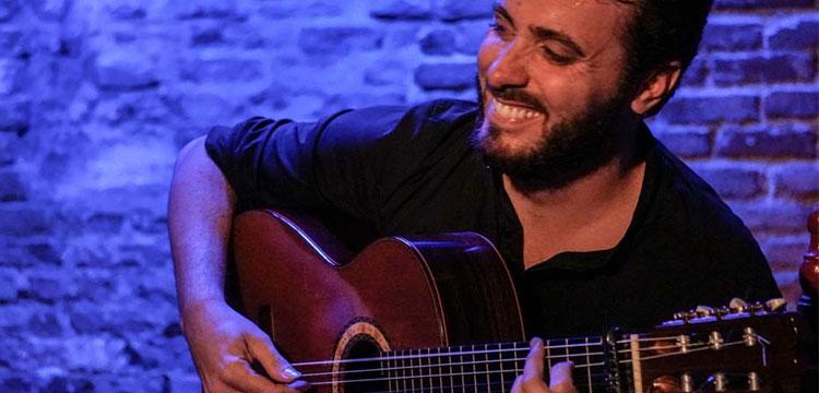 Jesús Guerrero en el Círculo Flamenco de Madrid