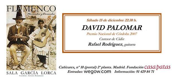 David Palomar - Sala García Lorca