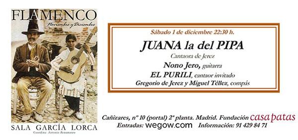 Juana la del Pipa - Sala García Lorca