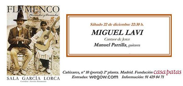 Miguel Lavi - Sala García Lorca