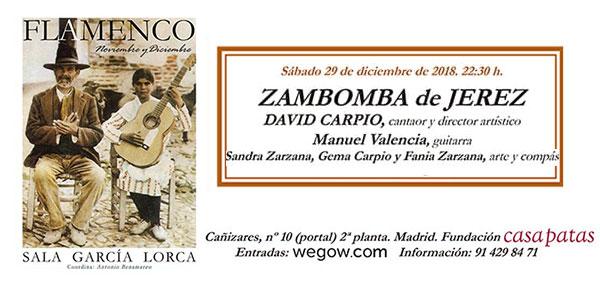 Zambomba - Sala García Lorca