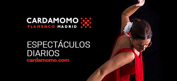 Cardamomo tablao flamenco Madrid
