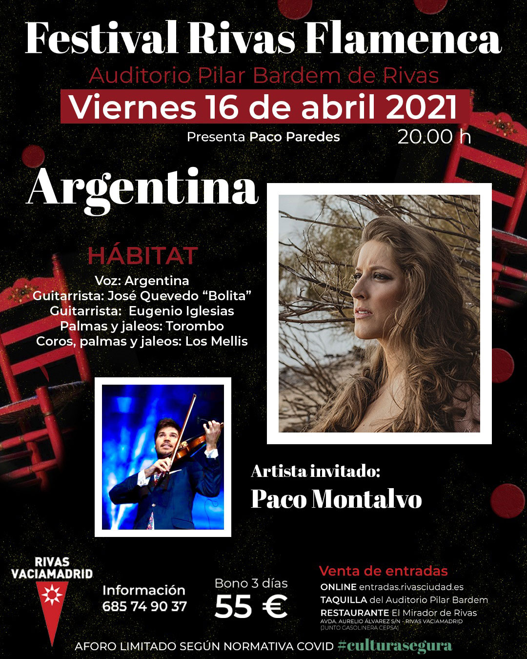 Argentina & Paco Montalvo - Rivas Flamenca