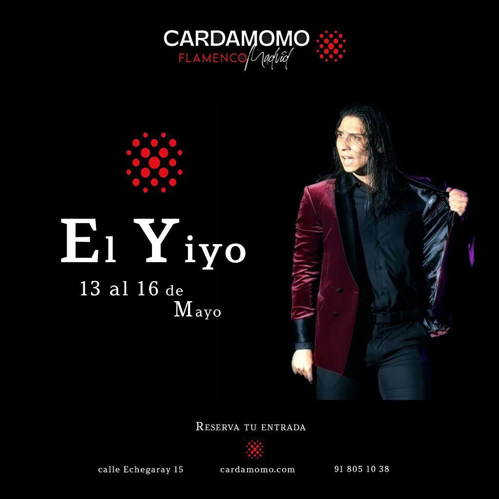 El Yiyo artista invitado en Tablao Flamenco Cardamomo