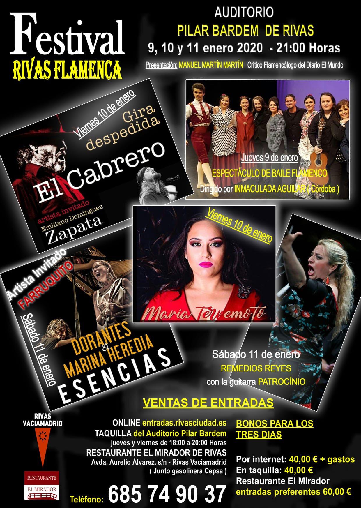 Festival Rivas Flamenca 2020