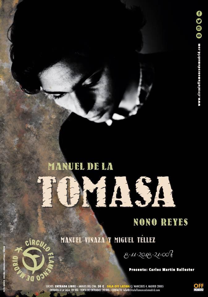 Manuel de la Tomasa - Círculo Flamenco de Madrid