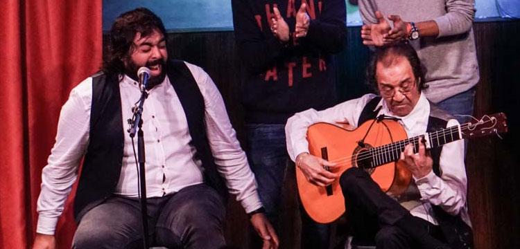 Pepe Habichuela & David de Jacoba en el Café Berlín