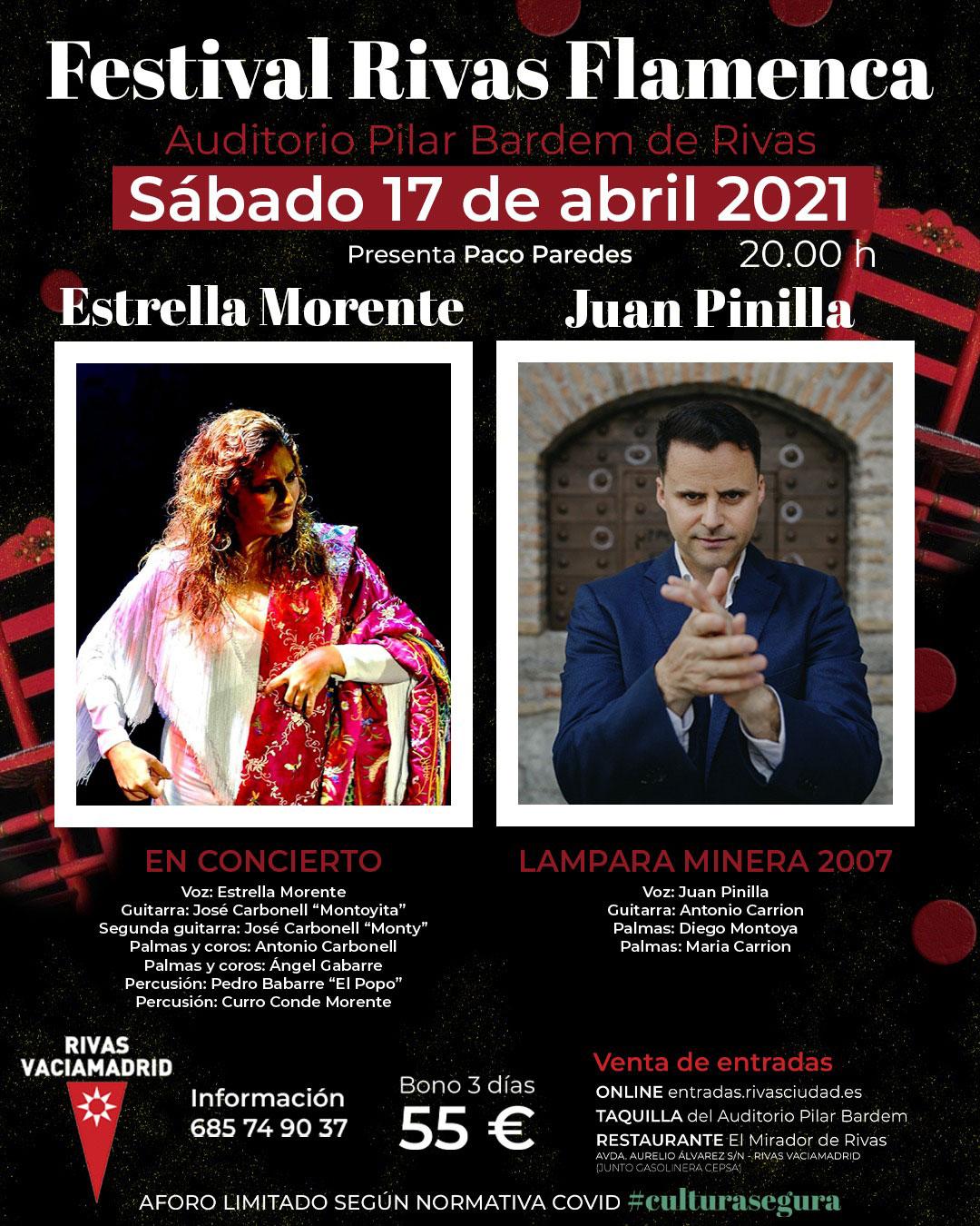 Rivas Flamenca 2021 - Estrella Morente / Juan Pinilla