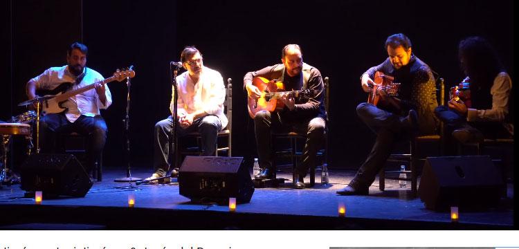 Tres guitarra flamencas, Kilino Jiménez, Joni Jiménez & Jesús del Rosario