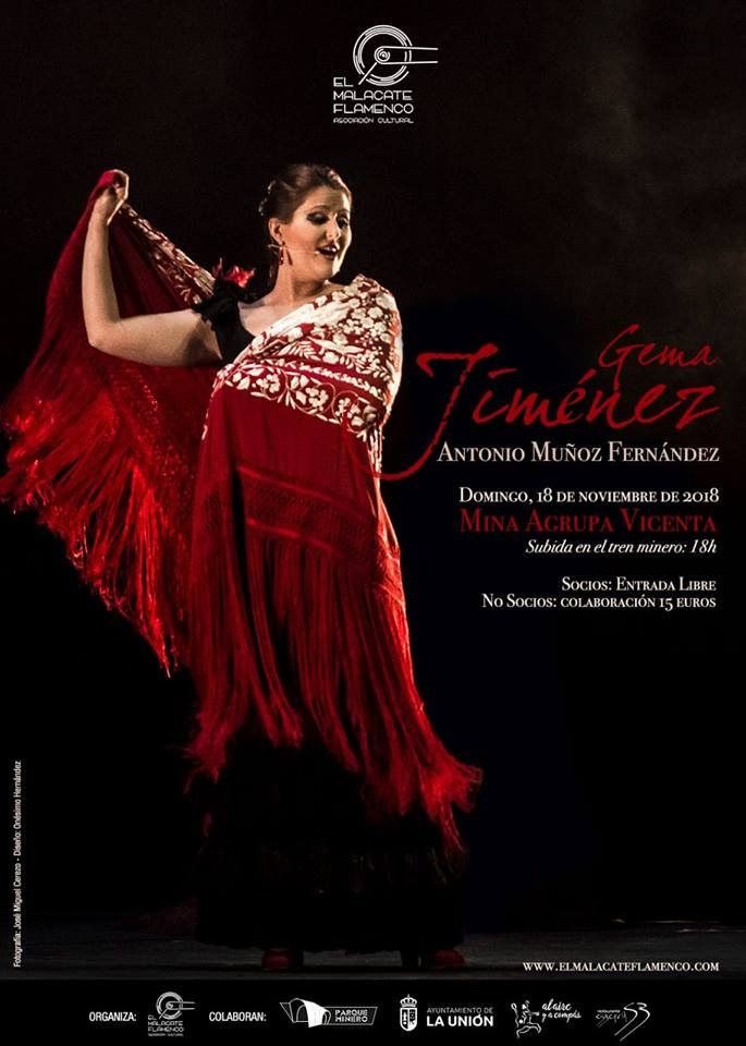 Gema Jiménez & Antonio Muñoz. Malacate Flamenco