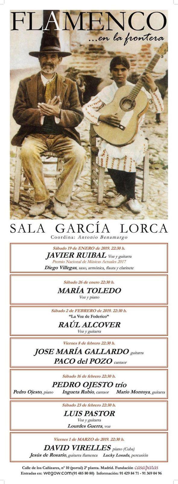 Flamenco en la Frontera Sala García Lorca