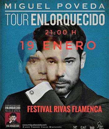 Miguel Poveda en Festival Rivas Flamenca
