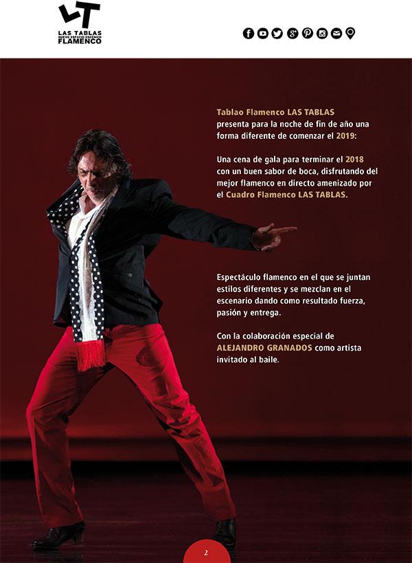 Nochevieja Flamenca Las Tablas